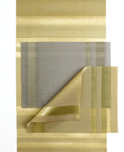 Chilewich Tuxedo Stripe Placemat Table Linens Dining