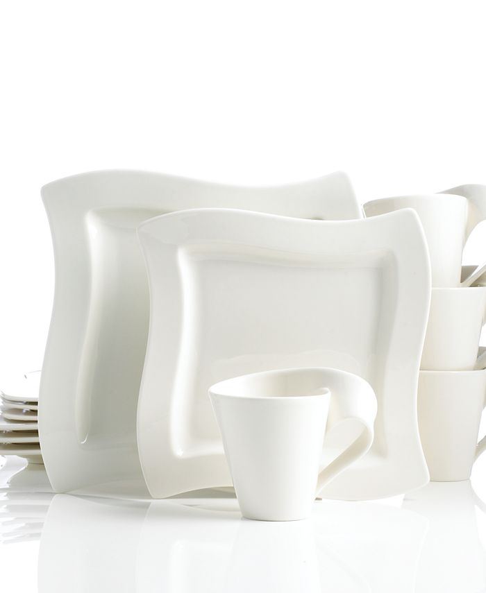 Villeroy & Boch - Dinnerware, New Wave 12 Piece Set