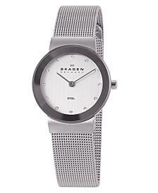 Women's Freja Stainless Steel Mesh Bracelet Watch