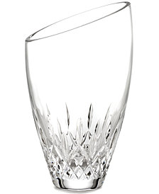 Waterford Gifts, Lismore Essence Angled Vase 9""
