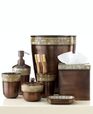 Paradigm Bath Accessories, Opal Copper Collection
