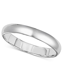 14k Gold 3mm Wedding Band