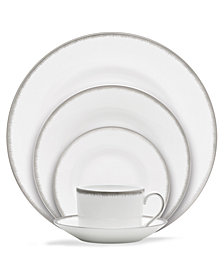 Wedgwood Dinnerware, Silver Aster 5-Piece Place Setting