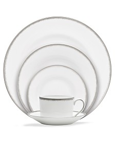 Wedgwood Dinnerware, Silver Aster Collection