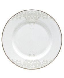 Lenox Opal Innocence Scroll Salad Plate