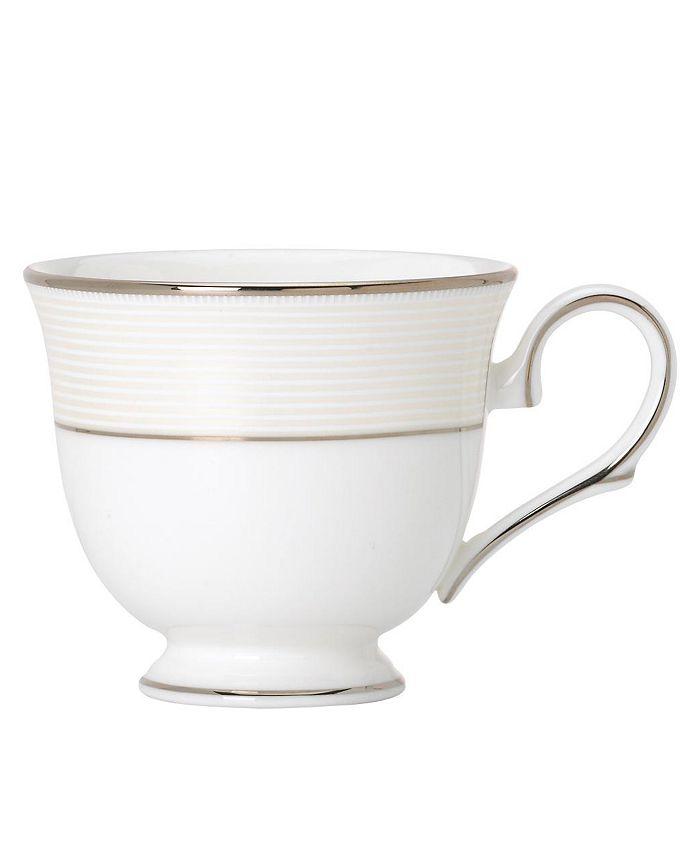"""Lenox - """"Opal Innocence Stripe"""" Cup"""