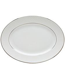 Dinnerware, Venetian Lace Large Oval Platter