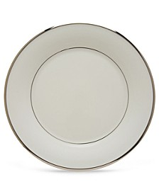 Solitaire White Dinner Plate