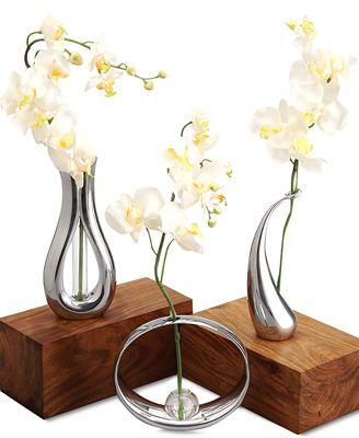 Nambe Bud Vase Collection Bowls Vases Macys Bridal And