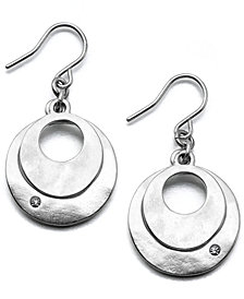 Kenneth Cole New York Earrings, Dual Circle