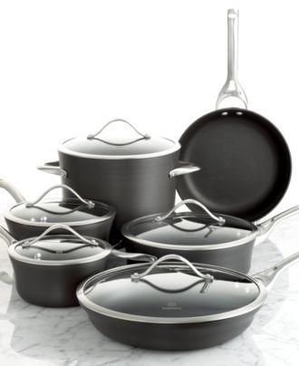 Calphalon Contemporary Nonstick 11 Piece Cookware Set