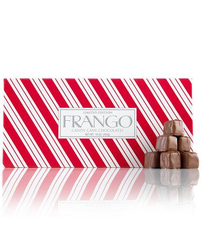 frango chocolates 45 pc limited edition candy cane box of chocolates