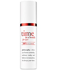 Time In A Bottle For Eyes 100% In-Control Repair-Renew-Resist Serum