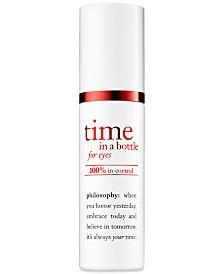 philosophy Time In A Bottle For Eyes 100% In-Control Repair-Renew-Resist Serum