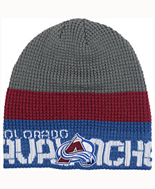 Reebok Colorado Avalanche Player Knit Hat