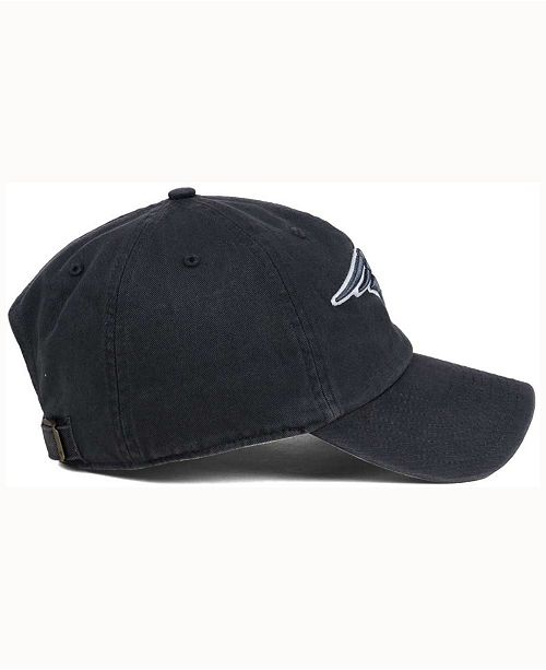 the best attitude 09f8c aa4f3  47 Brand New England Patriots Charcoal White Clean Up Cap    ...