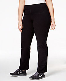 Calvin Klein Performance Plus Size Compression Narrow Leg Pant