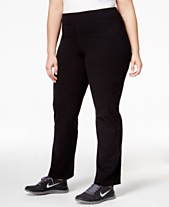 ba5d85f94 Calvin Klein Performance Plus Size Compression Narrow Leg Pant