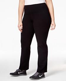 Calvin Klein Performance Plus Size Compression Narrow Leg Pant