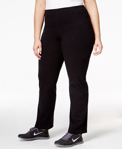 Calvin Klein Performance Plus Size Slimming High-Waisted Leggings