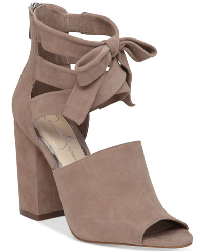 Jessica Simpson Kandiss Block-Heel Dress Sandals