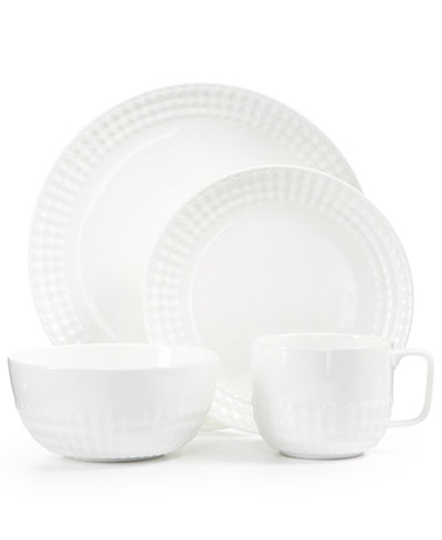 CLOSEOUT! Hotel Collection, Apex Texture Dinnerware , Created for Macy's