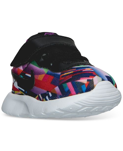 d9a2e18a83 ... Nike Toddler Girls' Tanjun Print Casual Sneakers from Finish Line ...