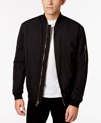 WHT SPACE by Shaun White Men's Padded Bomber Jacket - Coats ...