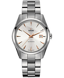 Rado Men's Swiss Automatic Hyperchrome Stainless Steel Bracelet Watch 39mm R32115113
