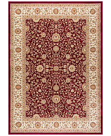 "CLOSEOUT! KM Home Oxford Kashan Red 7'10"" x 10'3"" Area Rug"