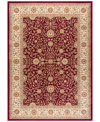CLOSEOUT! KM Home Oxford Kashan Red Area Rugs