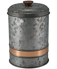 Thirstystone Medium Two-Tone Galvanized Canister