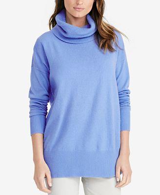 Lauren Ralph Lauren Cowl-Neck Sweater - Sweaters - Women - Macy's