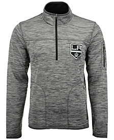 G-III Sports Men's Los Angeles Kings Fast Pace 1/4 Zip Pullover