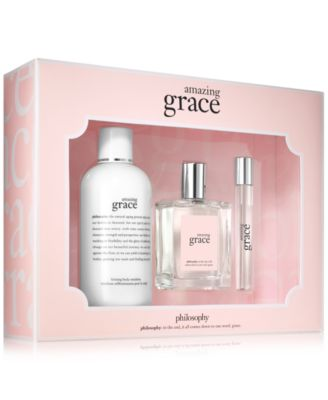 Image of philosophy 3-Pc. Amazing Grace Fragrance Set - A $96 Value, Only at Macy's
