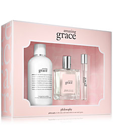 philosophy 3-Pc. Amazing Grace Fragrance Set - A $96 Value, Created for Macy's