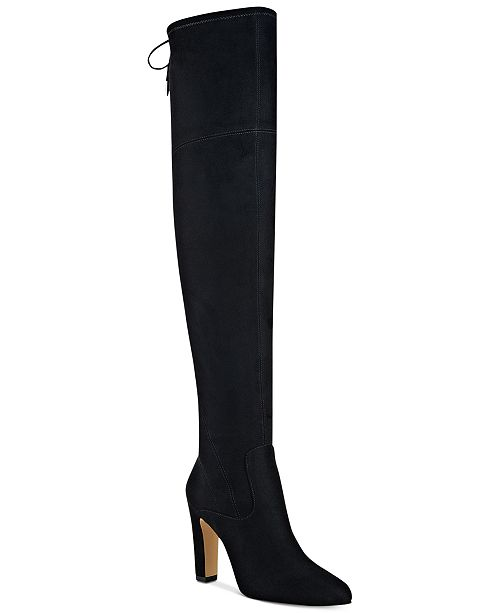 Ivanka Trump Smith Over-The-Knee Boots