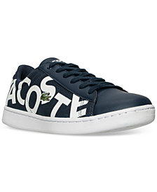 Lacoste Big Boys' Carnaby EVO Logo Casual Sneakers from Finish Line