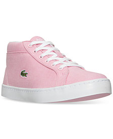 Lacoste Little Girls' Straightset Chukka Casual Sneakers from Finish Line
