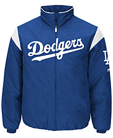 Majestic Men's Los Angeles Dodgers On-Field Thermal Jacket