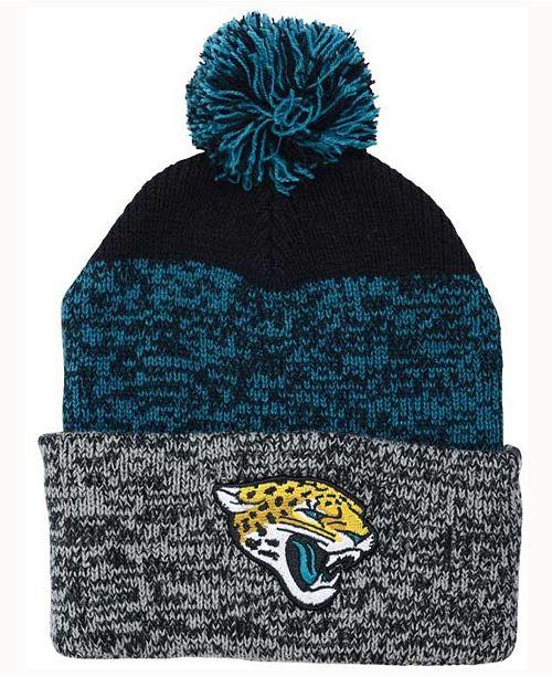 c0f1259d901  47 Brand Jacksonville Jaguars Static Cuff Pom Knit Hat   Reviews ...