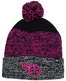 '47 Brand Tennessee Titans Static Cuff Pom Knit Hat
