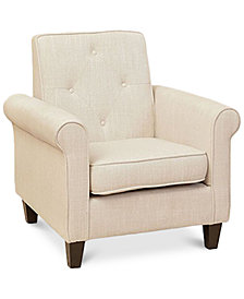 Raddyn Fabric Club Chair, Quick Ship