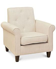 Raddyn Fabric Club Chair, Quick Ship