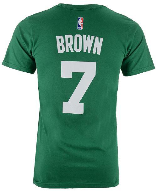 san francisco 6cf12 b7be4 adidas Men's Jaylen Brown Boston Celtics Player T-Shirt ...