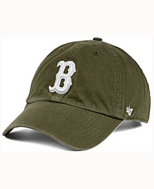 Boston Red Sox Olive White CLEAN UP Cap