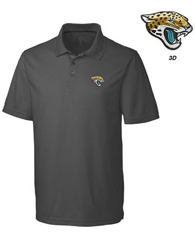 Cutter & Buck Men's Jacksonville Jaguars 3D Emblem Fairwood Polo Shirt