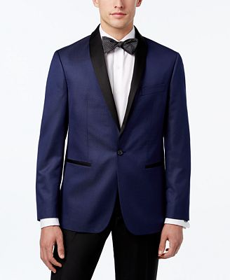 Ryan Seacrest Distinction Men's Slim-Fit Microdot Dinner Jacket, Only at Macy's