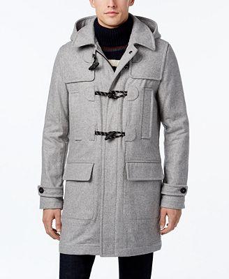 Tommy Hilfiger Men's Classic Duffle Coat - Coats & Jackets - Men ...