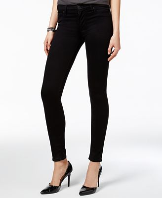 Hudson Jeans Colored Wash Super-Skinny Ankle Jeans